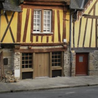 L'ensemble de la façade